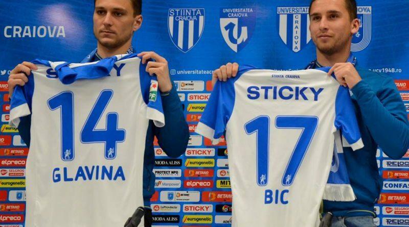 Cu ce gânduri au venit Bic și Glavina la Craiova!