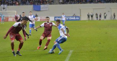Egalul dintre Craiova și CFR, veste buna pentru FCSB!