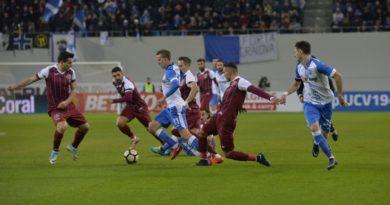 meciul dintre Craiova și CFR!