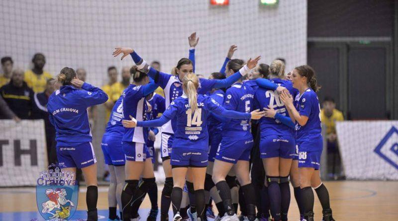SCM Craiova joacă în finala Cupei EHF