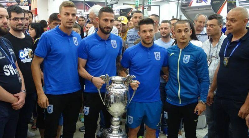 au ridicat deja Cupa României!