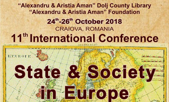 """Conferința Științifică Internațională """"Stat și Societate în Europa"""", la Biblioteca Aman"""