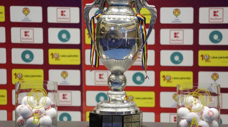 tragerea la sorti pentru sferturile Cupei Romaniei