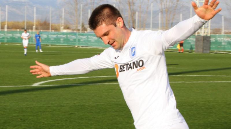 Cristea a marcat la primul meci pe Oblemenco