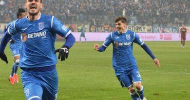 final de meci: Universitatea Craiova - Astra 1-0