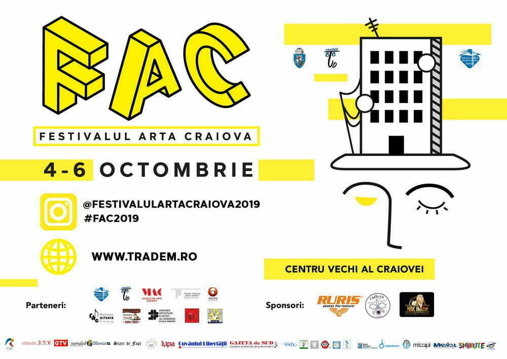 Craiova devine pentru 3 zile Capitala Artei!