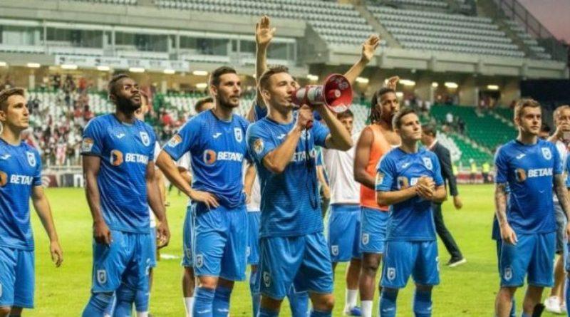 Acka gafa de serviciu CFR Cluj - Craiova 2-0