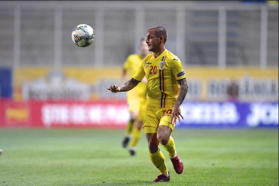 Alex Mitrita a marcat in Romania - Norvegia 1-1