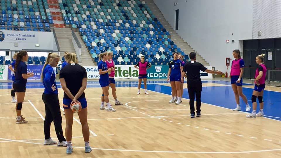 SCM Craiova infrunta o echipa semiprofesionista
