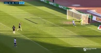 jucatorii lui Slovan Belupo s-au bucurat la un gol fantomagol fantoma