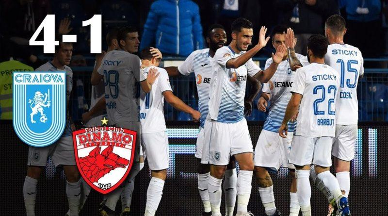 Craiova - Dinamo 4-1, leii i-au umilit pe caini
