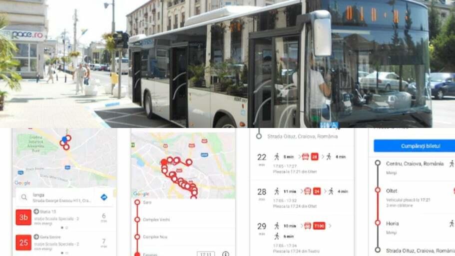 """Aplicația mobila """"Craiova Transport"""" a fost lansată în Bănie!"""
