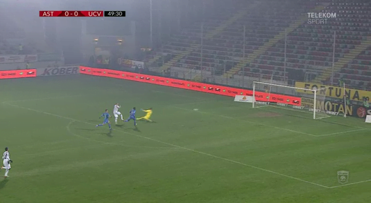 Astra - Craiova 1-0 Oltenii pierd teren