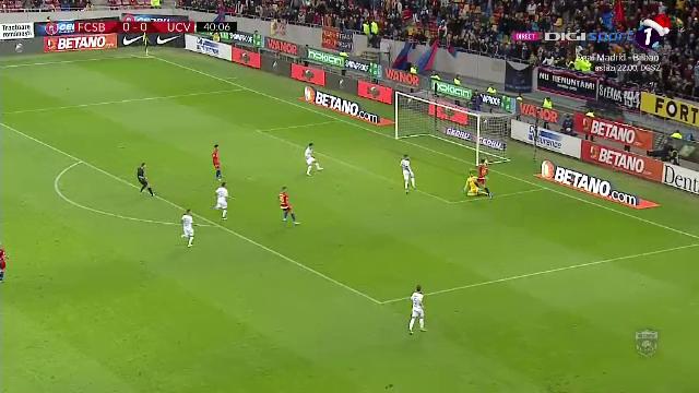 FCSB - Craiova 2-0, echipa lui Piturca incheie sezonul cu o infrangere
