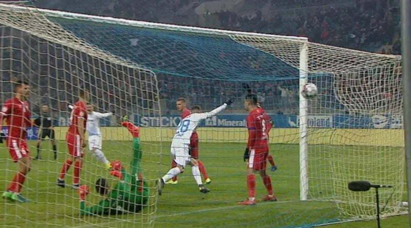 Mihaila primul gol pe Oblemenco