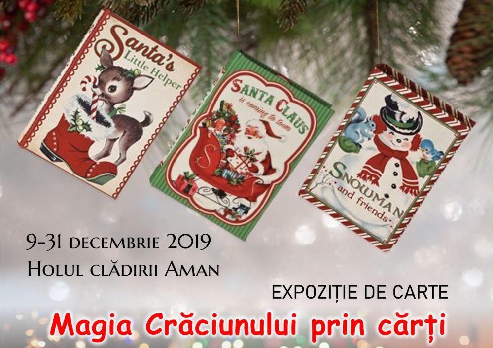 """""""Magia Crăciunului prin cărți"""""""