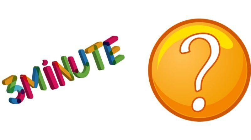 ghicitoarea 3 minute