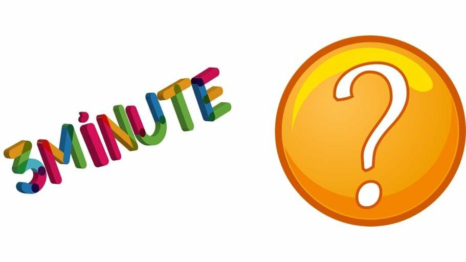 Ghicitoarea 3 minute: A fost, este și va fi, dar nimeni nu îl vede!