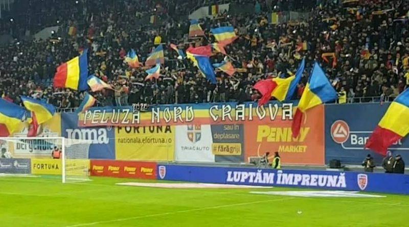 Peluza Nord Craiova gata sa-i primeasca pe tricolorii mici
