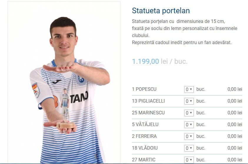 Un fotbalist care n-a jucat deloc la Craiova are statuetă. Dan Nistor n-are!