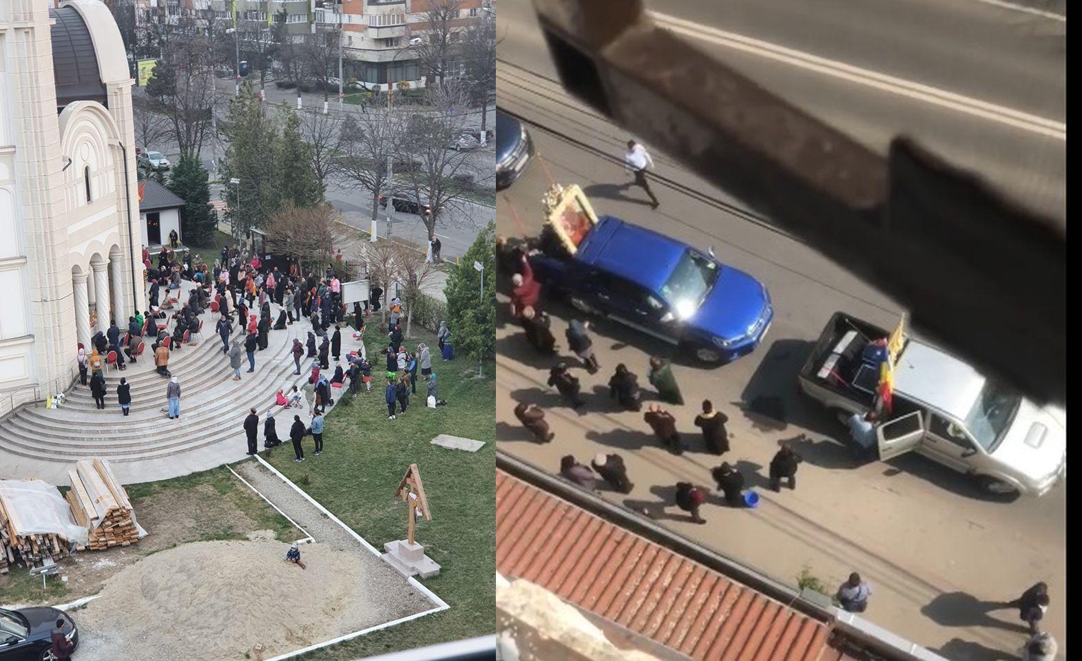 VIDEO! Pandemia la români: popi și doctori!