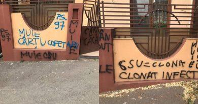casa lui cartu vandalizata