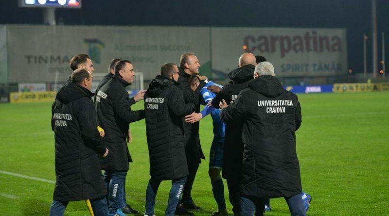 Corneliu Papura, Claudiu Stamatescu, Mihai Rotaru si staff-ul Craiovei