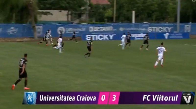 Craiova - Viitorul 0-3 in primul amical