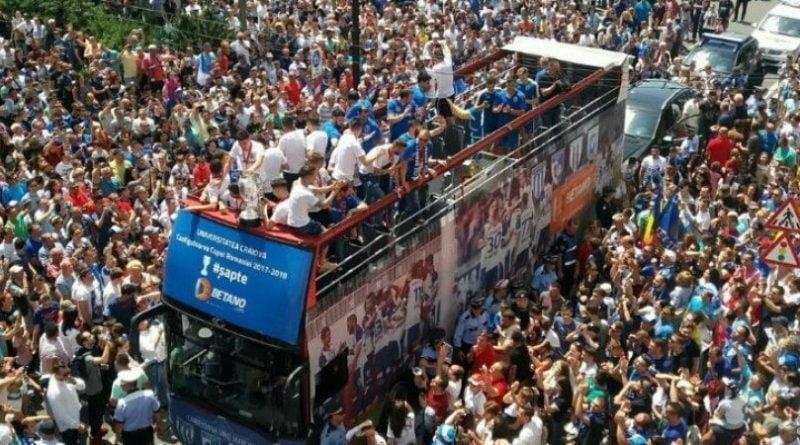 Craiova ia campionatul