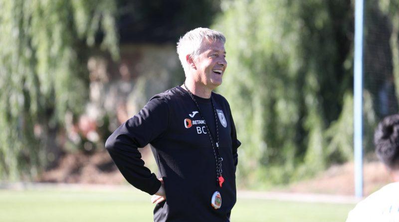 "Bergodi inainte de Craiova - FCSB: ""Nu simt presiunea titlulu"""