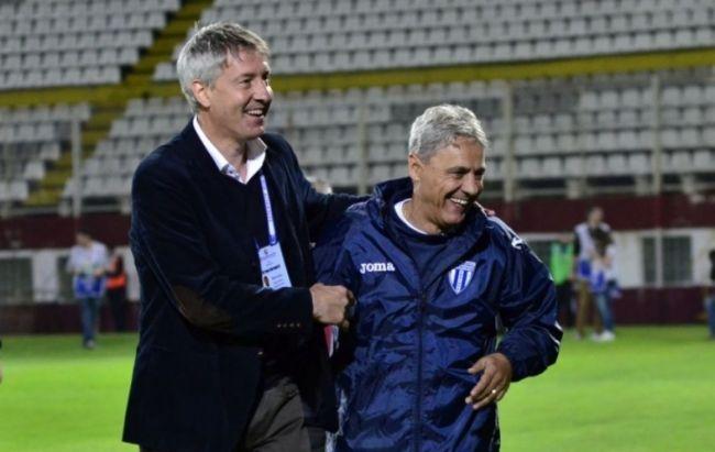 Cristiano Bergodi in Craiova - FCSB