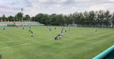 FCU Craiova-Chiajna amical