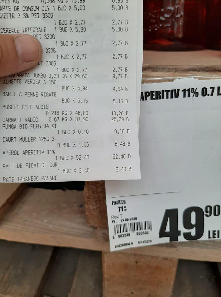 Un preț la raft, altul la casă! Se întamplă în Auchan!