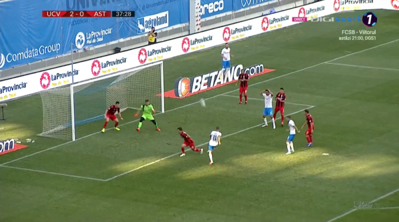 Craiova - Astra 2-0 victorie