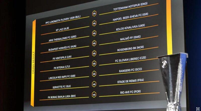 Europa League tragere la sorti