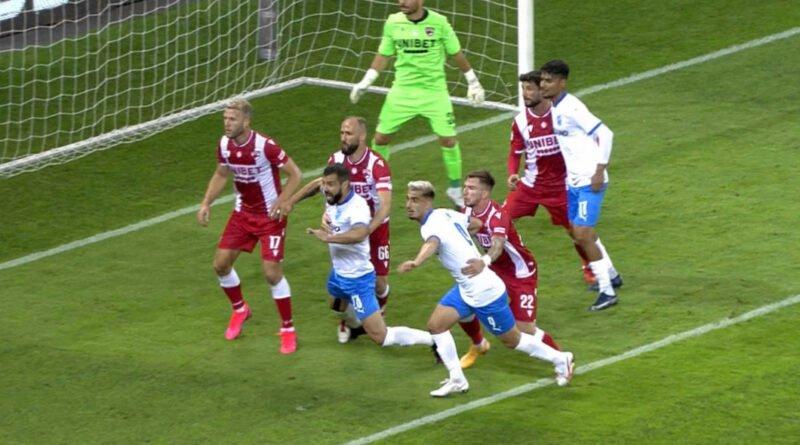 Dinamo-Craiova penalty