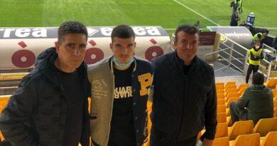 Valentin Mihalila pe stadionul Ennio Tardini