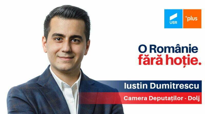 Iustin Dumitrescu - Camera Deputatilor, USR PLUS