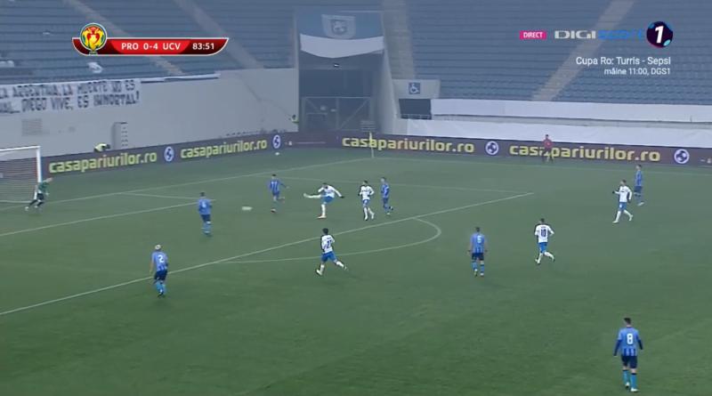 Craiova - Progresul Spartac 5-0