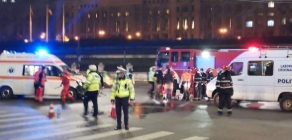 VIDEO: Un polițist oltean a murit pe străzile Capitalei!