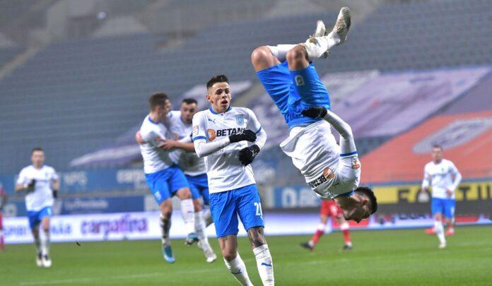 Andrei Ivan tumba, Craiova - Dinamo 1-0