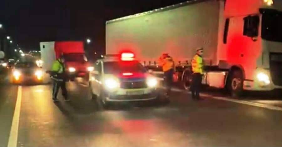 VIDEO: Un bărbat a murit după ce două mașini l-au lovit una după alta!